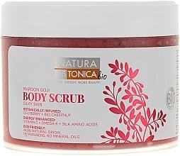 Perfumería y cosmética Exfoliante corporal con extractos de bayas de goji & castaña - Natura Estonica Maroon Goji Body Scrub