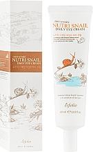 Perfumería y cosmética Crema contorno de ojos antiarrugas con baba de caracol - Esfolio Nutri Snail Daily Eye Cream