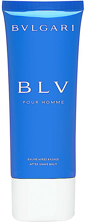 Bálsamo aftershave - Bvlgari BLV