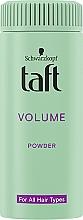 Perfumería y cosmética Polvo para volumen del cabello con larga duración - Schwarzkopf Taft Volumen Powder