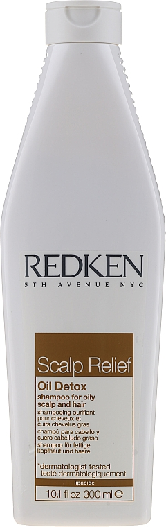Champú para cabello & cuero cabelludo graso con arcilla - Redken Scalp Relief Oil Detox Shampoo