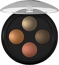 Perfumería y cosmética Sombras de ojos iluminadoras - Lavera Illuminating Eyeshadow Quattro
