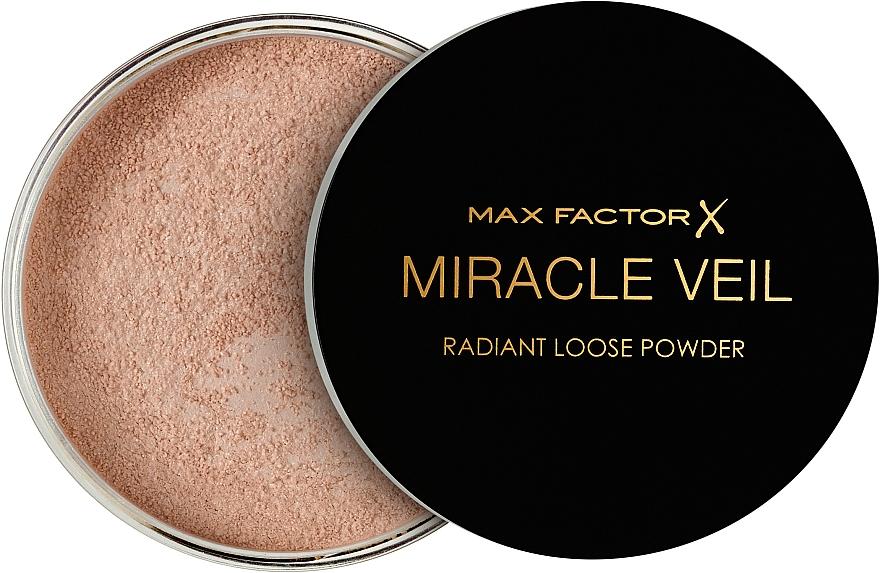 Polvo facial fijador suelto, translúcido - Max Factor Miracle Veil Radiant Loose Powder