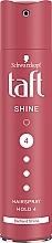 Perfumería y cosmética Laca antihumedad con pantenol brillo de diamante, fijación ultra fuerte - Schwarzkopf Taft Shine Hair Lacquer