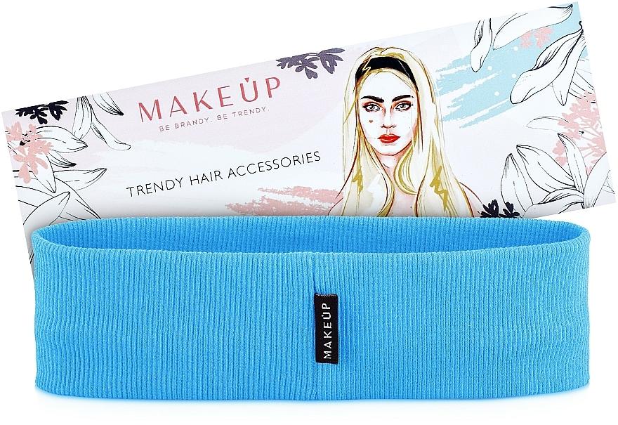 Cinta de pelo, azul claro, Be Beauty - MakeUp
