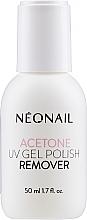Perfumería y cosmética Removedor de esmalte semipermanente - NeoNail Professional Acetone UV Gel Polish Remover