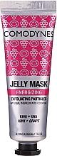 Perfumería y cosmética Gel-mascarilla facial energizante con uva y kiwi - Comodynes Jelly Mask Energizing Exfoliating Action