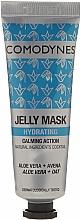 Perfumería y cosmética Gel mascarilla facial con aloe vera y avena - Comodynes Jelly Mask Hydrating Action