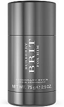 Perfumería y cosmética Burberry Brit for men - Desodorante stick