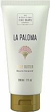 Perfumería y cosmética Manteca corporal con cacao - Scottish Fine Soaps La Paloma Body Butter