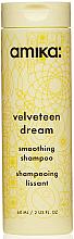 Perfumería y cosmética Champú alisante con aloe vera y provitamina B5 - Amika Velveteen Dream Shampoo