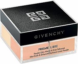 Perfumería y cosmética Polvo suelto de maquillaje, efecto mate - Givenchy Prisme Libre Mat-finish & Enhanced Radiance Loose Powder