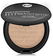 Perfumería y cosmética Polvo facial compacto hipoalergénico mate - Bell HypoAllergenic Mat Powder