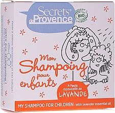 Perfumería y cosmética Champú sólido natural con aceite esencial de lavanda - Secrets De Provence My Children Shampoo Lavender Essential Oil