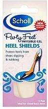 Perfumería y cosmética Almohadillas protectoras para zapatos - Scholl Party Feet Invisible Gel Shields Back of Heels