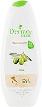 Perfumería y cosmética Espuma de baño con aceite de oliva - Dermomed Bath Foam