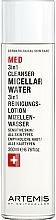 Perfumería y cosmética Agua micelar con jugo de aloe vera - Artemis of Switzerland Med 3in1 Cleanser Micellar Water
