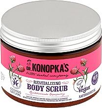 Perfumería y cosmética Exfoliante corporal con extracto de frambuesa y aceite de lavanda orgánico - Dr. Konopka's Revitalizing Body Scrub