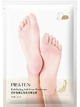 Perfumería y cosmética Mascarilla para talones suave con extracto de ginseng y aceite de lavanda - Pilaten Exfoliating Soft Foot