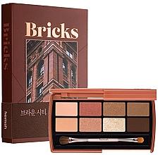 Perfumería y cosmética Paleta de sombras de ojos con aplicador - Heimish Dailism Eye Palette Brick Brown
