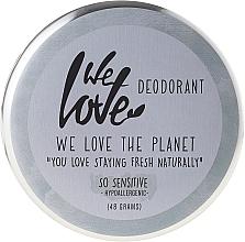 Desodorante en crema natural hipoalergénico con aceite de coco y oliva - We Love The Planet Deodorant So Sensitive — imagen N1