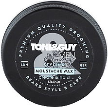 Perfumería y cosmética Cera para bigote - Toni & Guy Men Styling Moustache Wax
