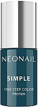 Perfumería y cosmética Esmalte gel de uñas, UV - NeoNail Simple One Step Color Protein