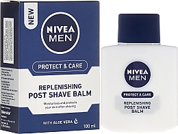 Perfumería y cosmética Bálsamo aftershave con aloe vera - Nivea For Men Replenishing After Shaving Balm