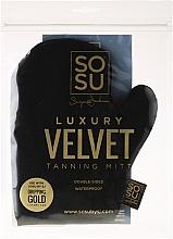 Perfumería y cosmética Guante aplicador de autobronceador - Sosu by SJ Dripping Gold Luxury Tanning Mitt Velvet