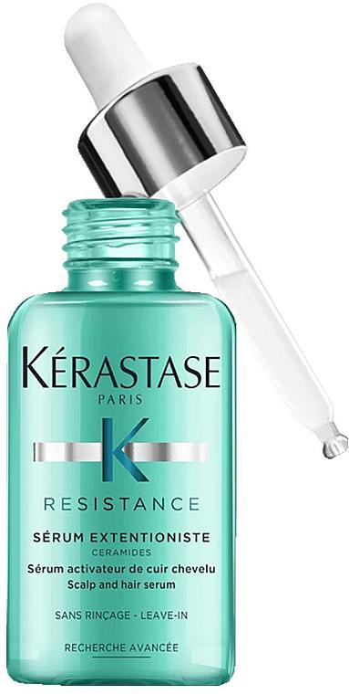 Sérum fortificante para cabello y cuero cabelludo con ceramida - Kerastase Resistance Serum Extentioniste