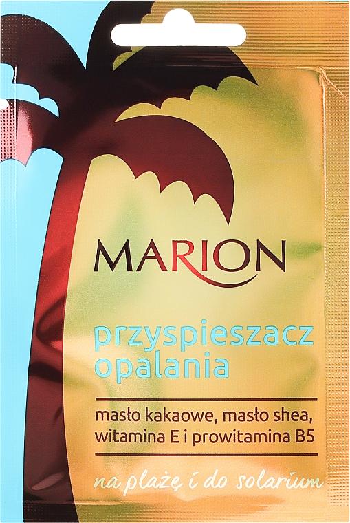 Loción autobronceadora con mantecas de karité y cacao, vitamina E y provitamina B5 - Marion