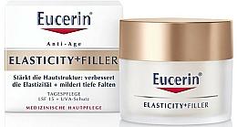 Perfumería y cosmética Crema de día reafirmante con ácido hialurónico y arcitina, SPF15 - Eucerin Hyaluron-Filler + Elasticity Day SPF15 Cream