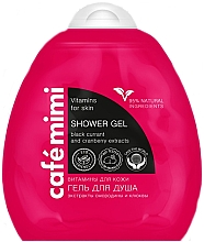 Perfumería y cosmética Gel de ducha multivitamínico con extracto de grosella negra y niacianamidas natural eco - Le Cafe de Beaute Cafe Mimi Shower Gel