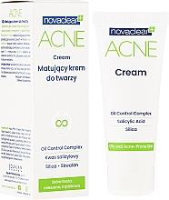 Perfumería y cosmética Crema facial mate antiacné con ácido salicílico y sílice - Novaclear Acne Cream