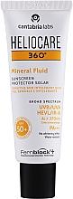 Perfumería y cosmética Protector solar fluido con filtros 100% minerales - Cantabria Labs Heliocare 360º Mineral Fluid SPF 50+