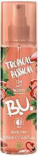 Perfumería y cosmética B.U. Tropical Passion - Spray corporal perfumado con aroma tropical