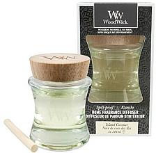 Perfumería y cosmética Difusor de aroma a coco - Woodwick Home Fragrance Diffuser Island Coconut