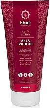 Perfumería y cosmética Champú voluminizador con extracto de amla y tulsi - Khadi Shampoo Amla Volume