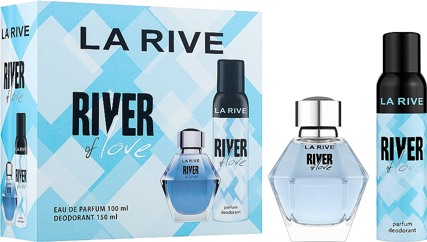 La Rive River Of Love - Set (eau de parfum/100ml + desodorante/150ml)