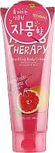 Perfumería y cosmética Crema corporal con manteca de karité, aroma a pomelo - Farms Therapy Sparkling Body Cream Grapefruit