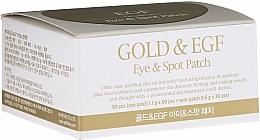 Perfumería y cosmética Parches para contorno de ojos de hidrogel con oro y aloe vera - Petitfee & Koelf Gold&EGF Eye&Spot Patch