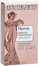 Perfumería y cosmética Polvo de henna para coloración de cabello, tono rojizo - Styx Naturcosmetic Henna Rot Stark