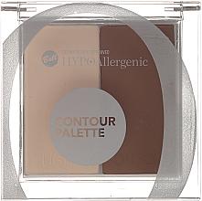 Perfumería y cosmética Paleta de contorno facial, hipoalergénico - Bell HypoAllergenic Contour Palette