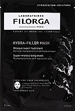 Perfumería y cosmética Mascarilla facial de tejido intensiva con ácido hialurónico - Filorga Hydra-Filler Mask