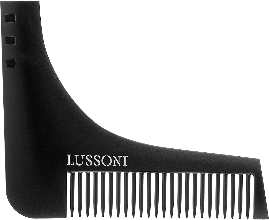 Peine para barba - Lussoni BC 600 Barber Comb