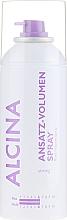 Perfumería y cosmética Spray voluminizador con aceite de ricino con fijación fuerte - Alcina Anstatz-Volumen Spray
