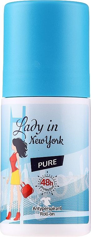 Desodorante roll-on antitranspirante - Lady In New York Pure Deodorant