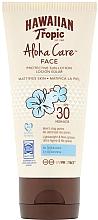 Perfumería y cosmética Loción protectora solar facial con efecto mate, SPF 30 - Hawaiian Tropic Aloha Care Protective Lotion SPF30