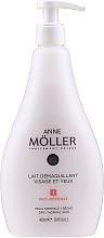 Leche desmaquillante sin parabenos, colorantes y alcohol - Anne Moller Pro-Defense Makeup Remover Milk Face and Eyes — imagen N1