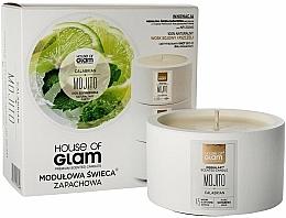Perfumería y cosmética Vela de soja con aroma a mojito - House of Glam Calabrian Mojito Candle